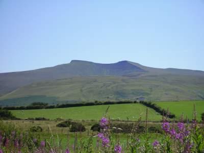 Penyfan from Mynydd Illtyd